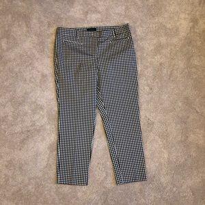 Ann Taylor Crop Gingham Pants